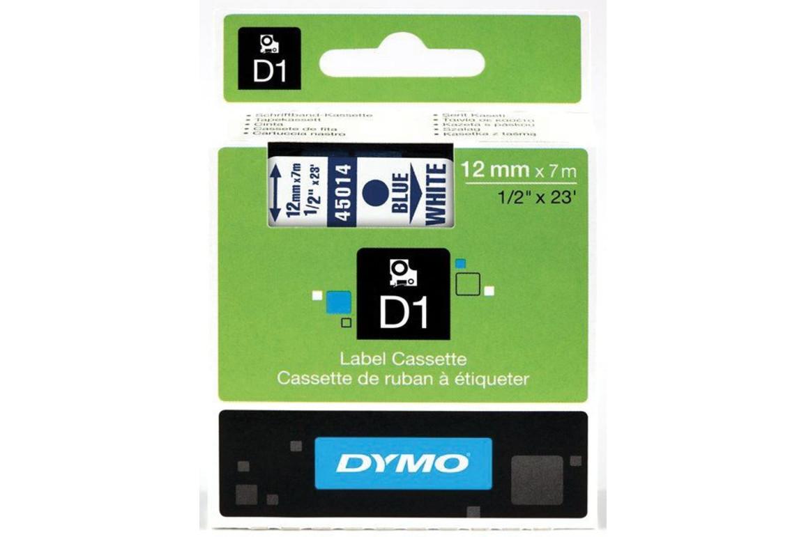 Beschriftungsband Dymo 12mmx7m schwarz grün, Art.-Nr. 00450-SWGN - Paterno Shop