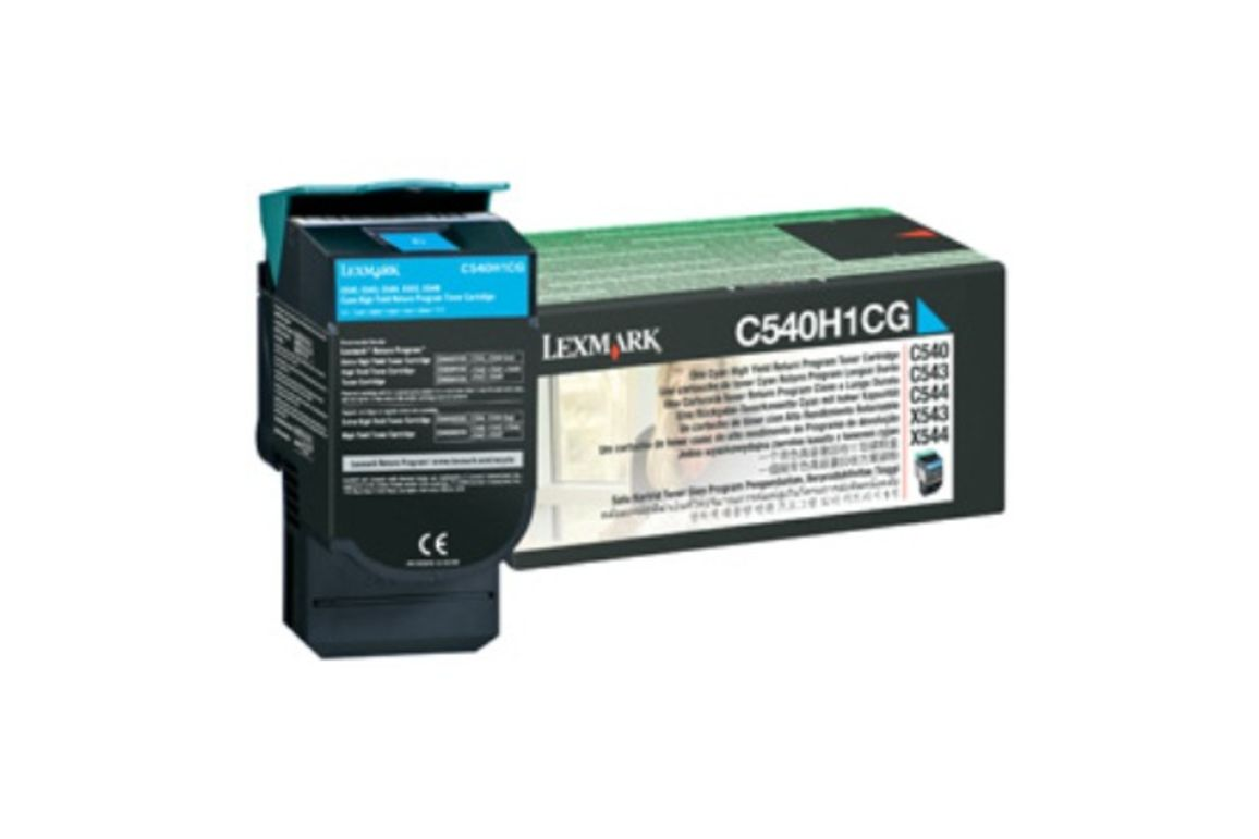 Toner Original Lexmark C 540 Return cyan, Art.-Nr. 0C540H1CG - Paterno Shop