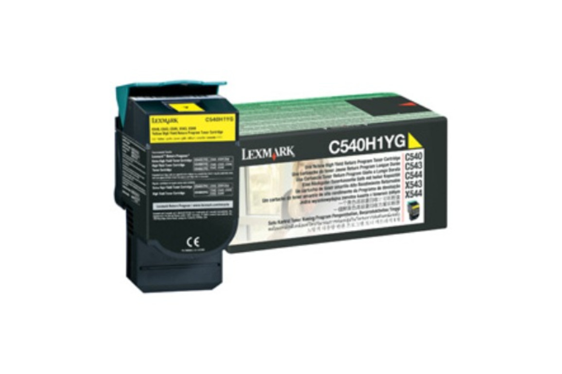 Toner Original Lexmark C 540 Return yellow, Art.-Nr. 0C540H1YG - Paterno Shop