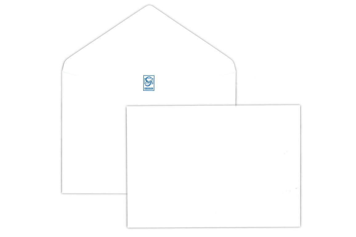 Kuvert Gössler C6 100 gr. weiss, Art.-Nr. 1015K - Paterno Shop