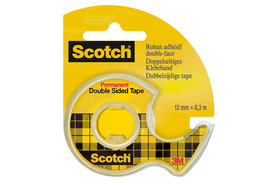 Klebeband Scotch Douplo 12mmx6,3lfm, Art.-Nr. 11272 - Paterno Shop