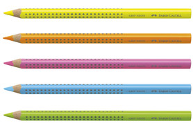 Textm. Faber JUMBO GRIP neon, Art.-Nr. 1148 - Paterno Shop