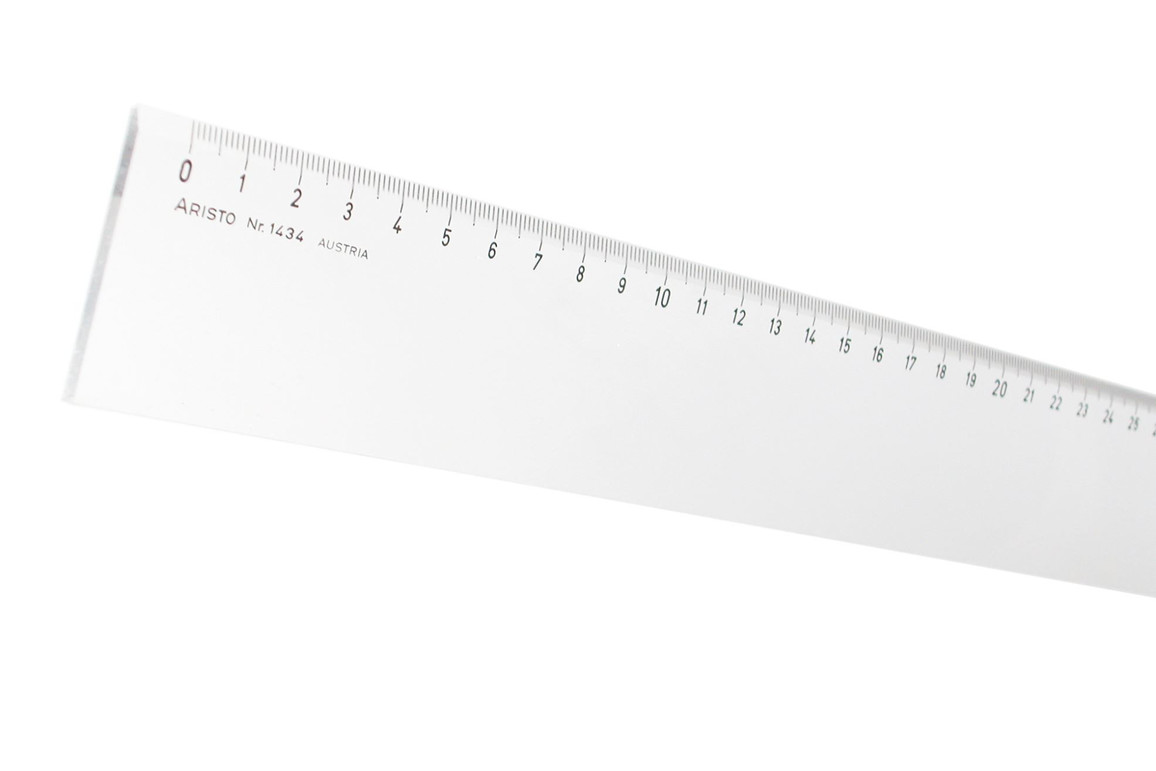 Lineal Aristo 40 cm Plexiglas, Art.-Nr. 1434 - Paterno Shop