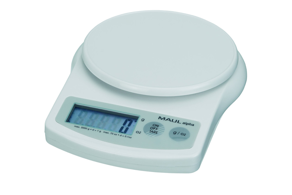 Briefwaage MAULalpha mit Batterie 2000g, Art.-Nr. 1642002 - Paterno Shop