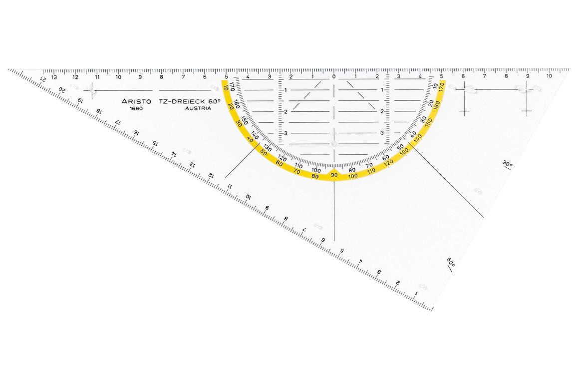 TZ Dreieck Aristo 60 Grad, Art.-Nr. 1660-1 - Paterno Shop