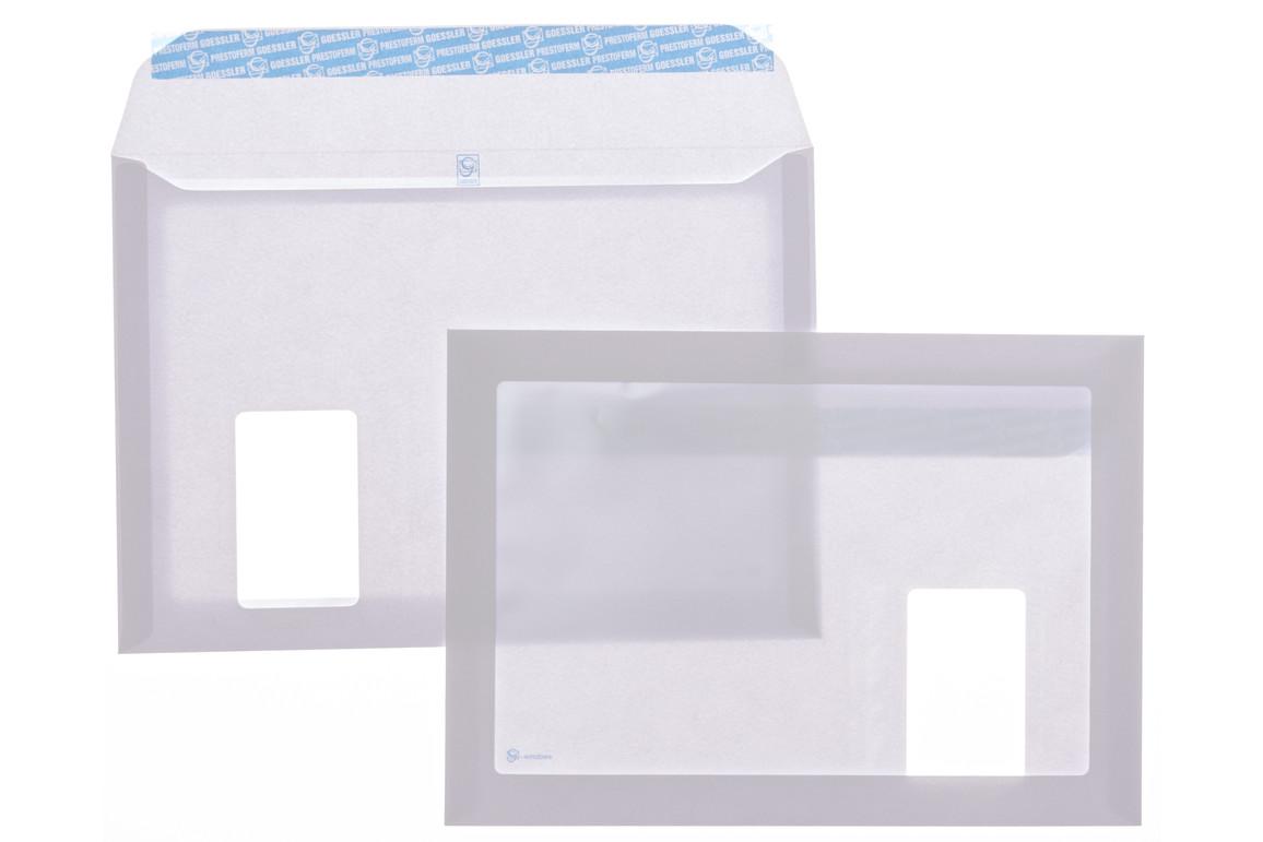 Kuverttasche Gössler C4 SV FL 120 gr. G-Windows, Art.-Nr. 2048T - Paterno Shop