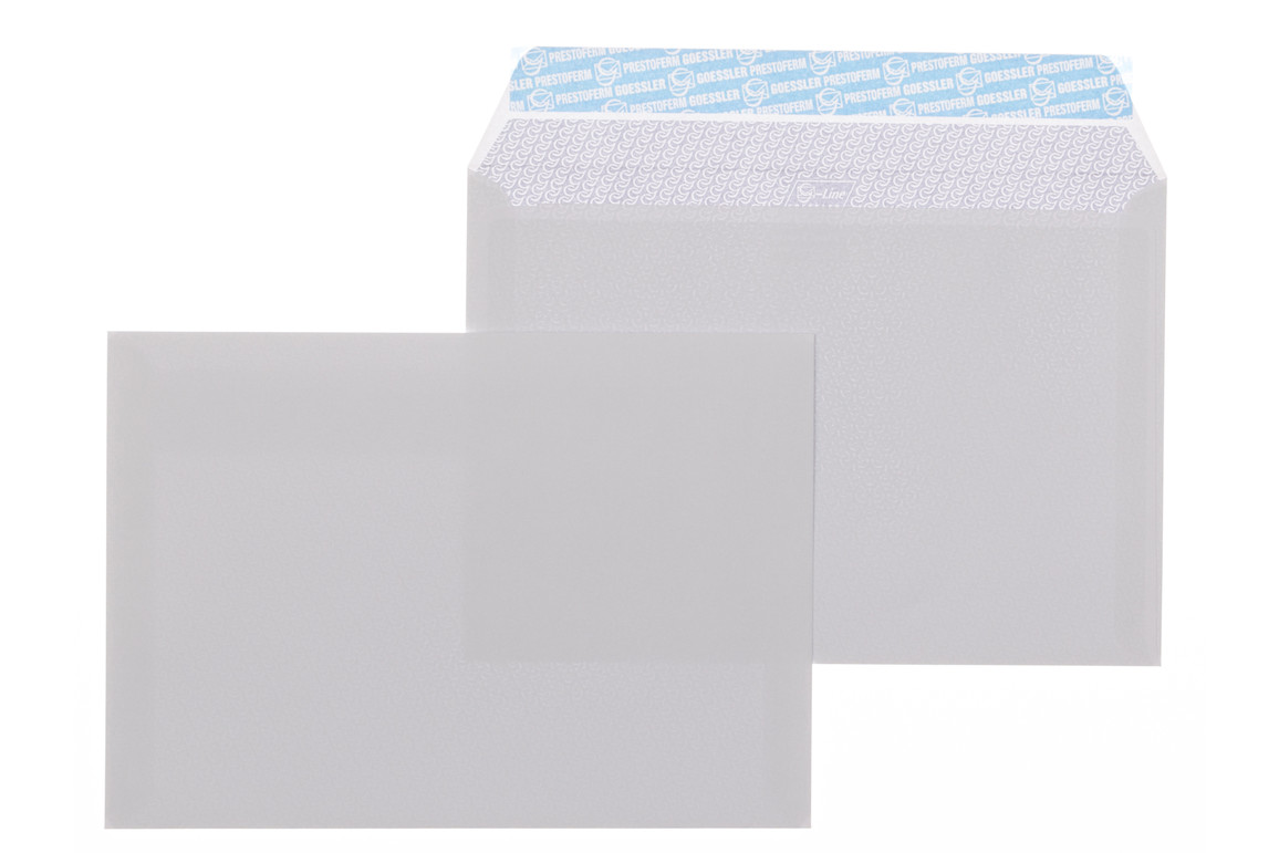 Kuvert Gössler B5 SV 100 gr. G-Line grey, Art.-Nr. 2071K - Paterno Shop