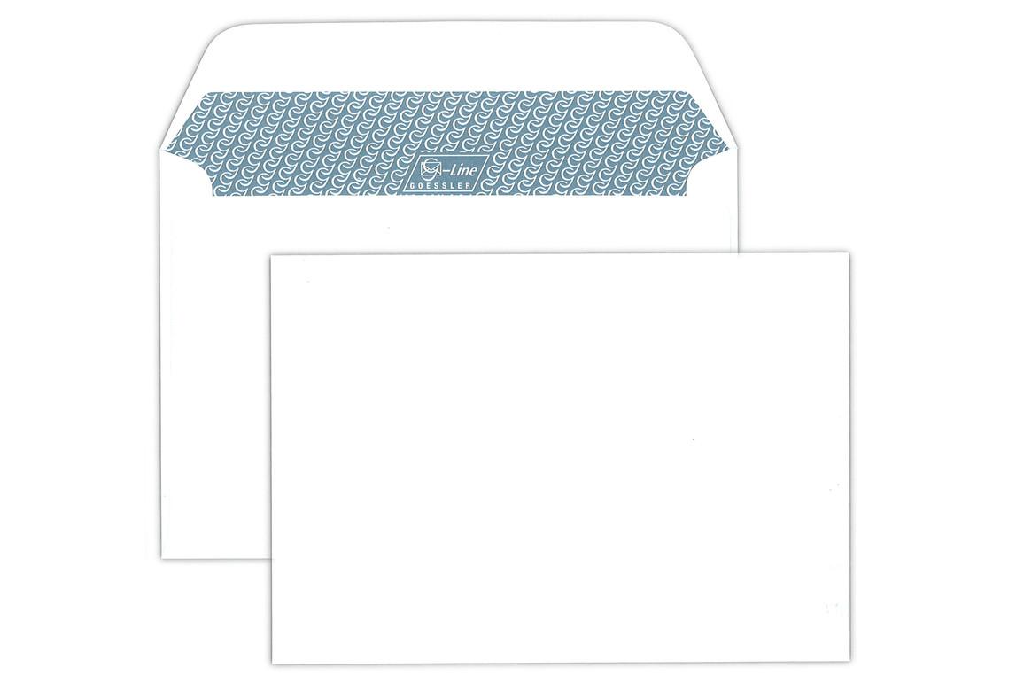 Kuvert Gössler B6 RN 100 gr. G-Line grey, Art.-Nr. 2111K - Paterno Shop