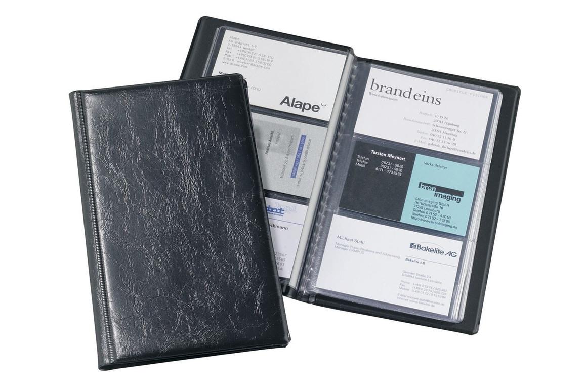 Visitenkartenalbum Durable Visifix 2400 schwarz, Art.-Nr. 240001 - Paterno Shop