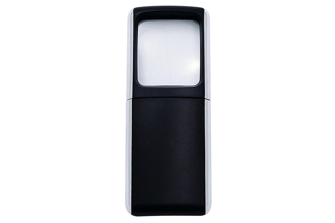 Lupe eckig beleuchtet schwarz, Art.-Nr. 2717501 - Paterno Shop