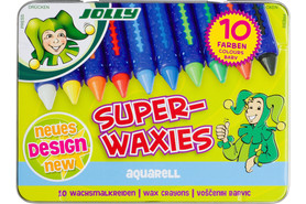 Wachskreiden Jolly Superwaxies Aquarell 10er, Art.-Nr. 5955-0003 - Paterno Shop