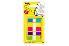 Haftstreifen Post-It Index 12x43 mm Mini, Art.-Nr. 683-5CB - Paterno Shop