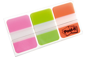 Haftstreifen Post-It Index Strong 25,4x38 mm, Art.-Nr. 686-PGO - Paterno Shop