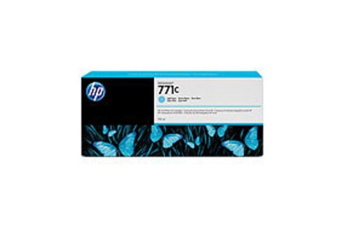 HP Ink Nr.771C light cyan 775ml, Art.-Nr. B6Y12A - Paterno Shop