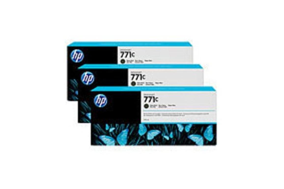 HP Ink Nr.771C matte black je 775ml 1x3, Art.-Nr. B6Y31A - Paterno Shop