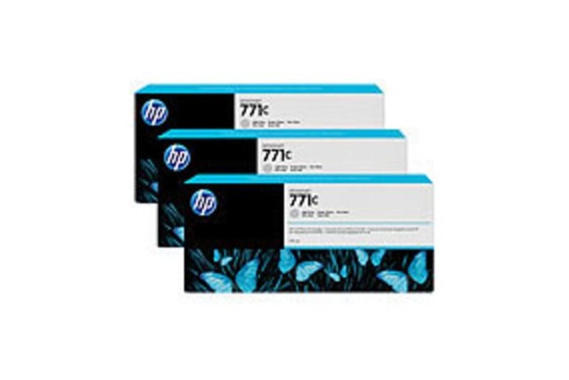 HP Ink Nr.771C light grey je 775ml 1x3, Art.-Nr. B6Y38A - Paterno Shop