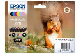 Epson Clara Photo HD Ink Multipack Nr.378 1x6, Art.-Nr. C13T37884010 - Paterno Shop
