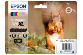 Epson Clara Photo HD Ink Multipack Nr.378XL 1x6, Art.-Nr. C13T37984010 - Paterno Shop