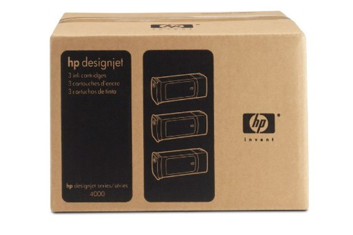 HP Ink Nr.90 cyan je 400ml 1x3, Art.-Nr. C5083A - Paterno Shop