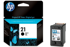 HP Ink Nr.21 black 5ml, Art.-Nr. C9351AE - Paterno Shop