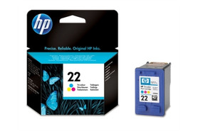 HP Ink Nr.22 color 5ml, Art.-Nr. C9352AE - Paterno Shop