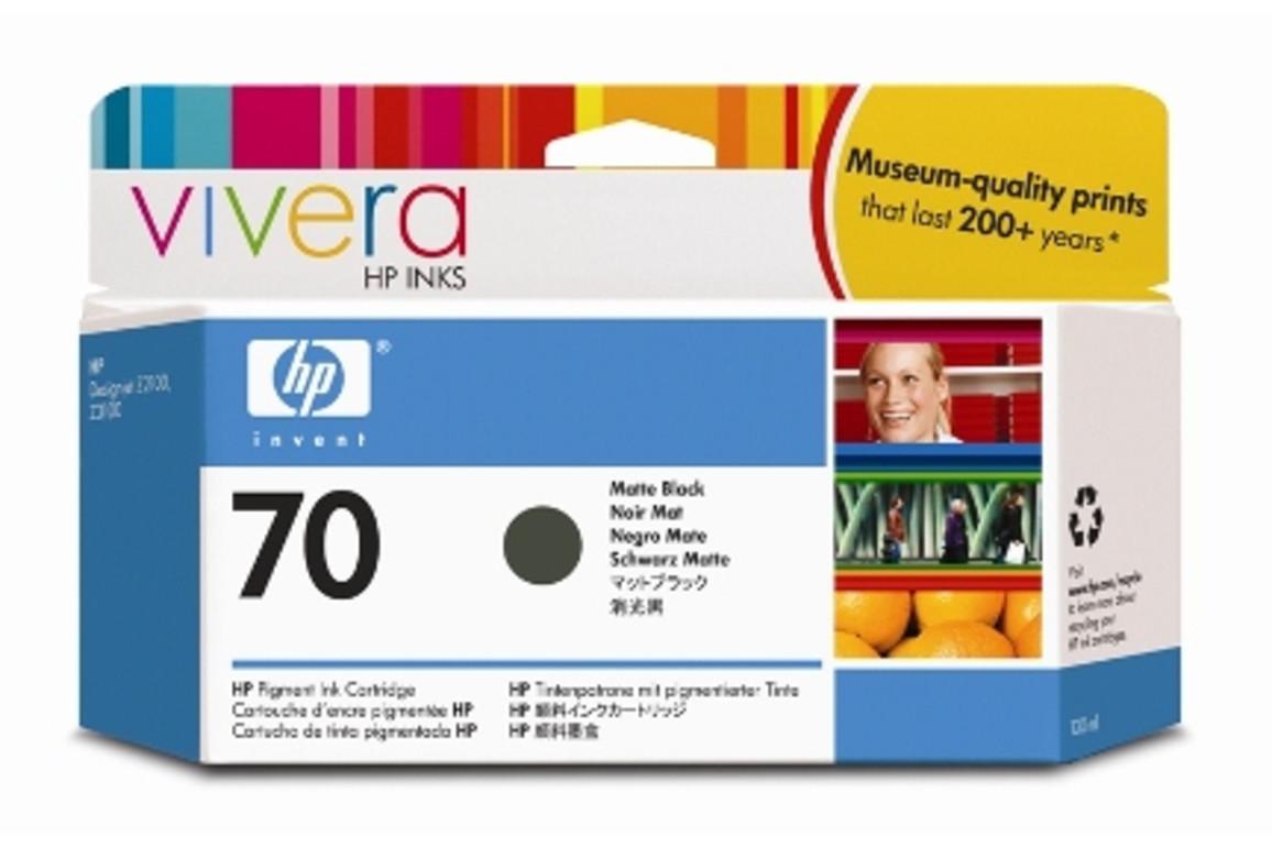HP Vivera Ink Nr.70 matte black 130ml, Art.-Nr. C9448A - Paterno Shop