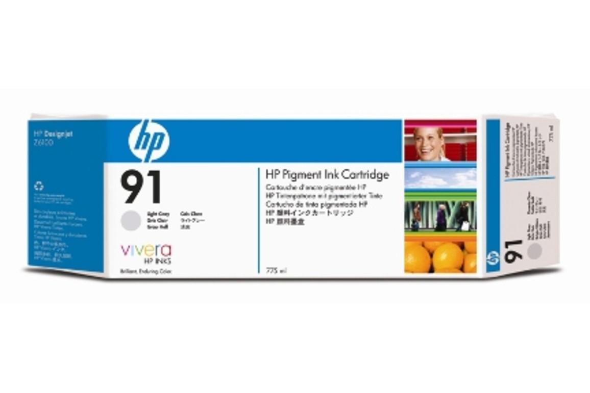 HP Vivera Ink Nr.91 light grey 775ml, Art.-Nr. C9466A - Paterno Shop