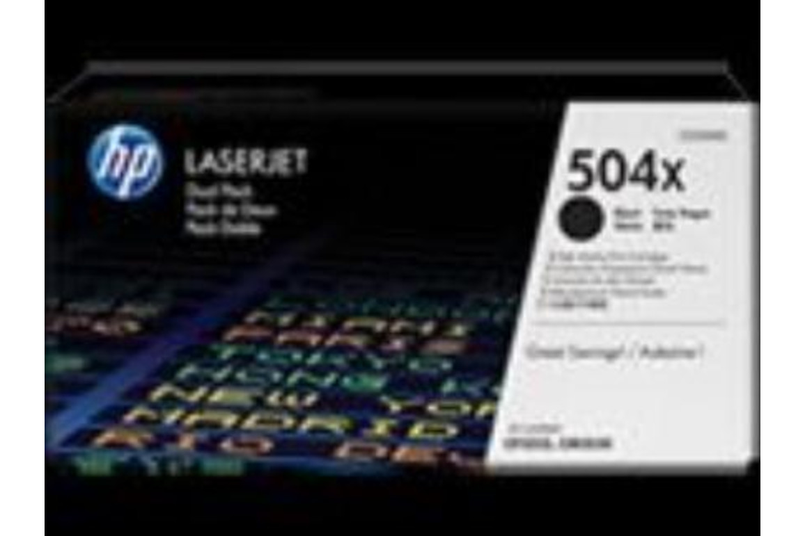 HP LJ Cartridge Nr.504X black 1x2 10,5K, Art.-Nr. CE250XD - Paterno Shop