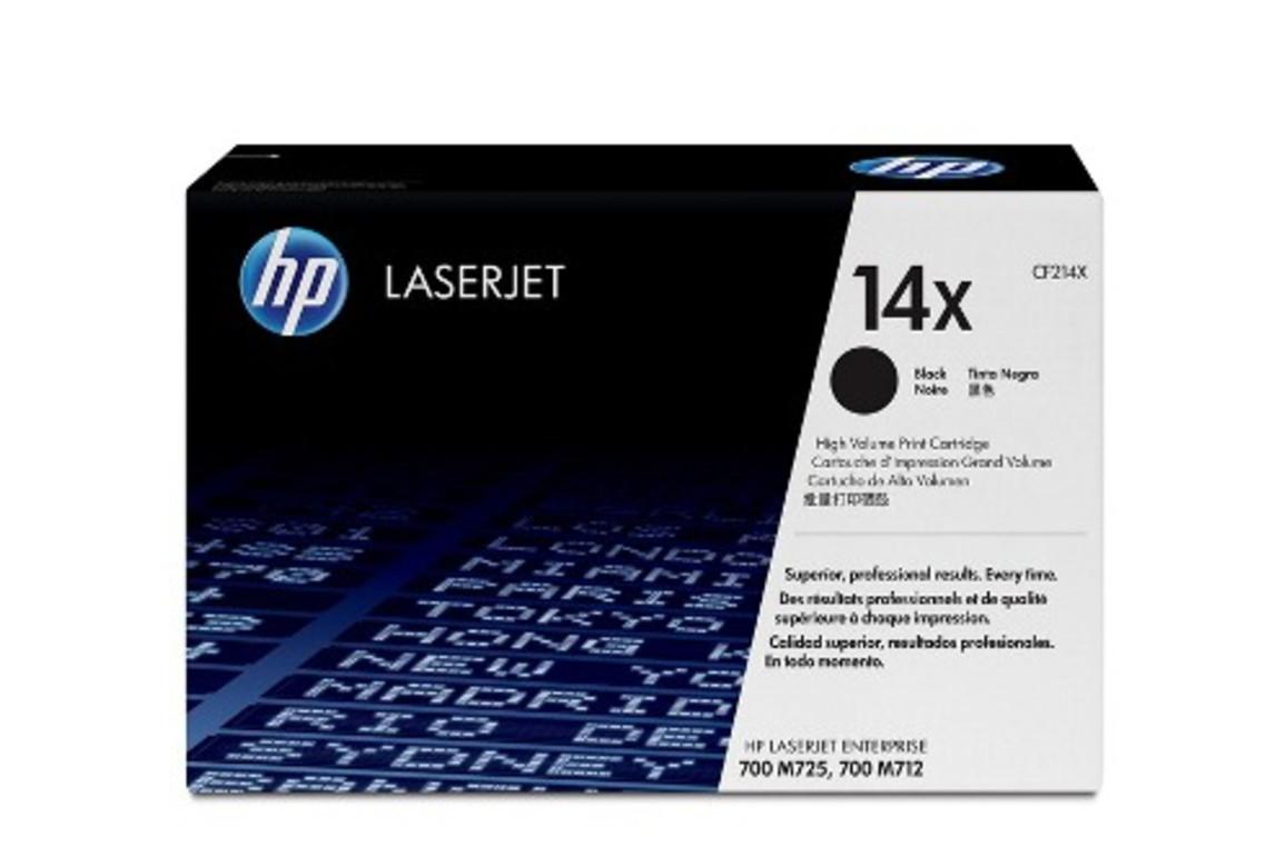 HP LJ Cartridge Nr.14X black 17,5K, Art.-Nr. CF214X - Paterno Shop