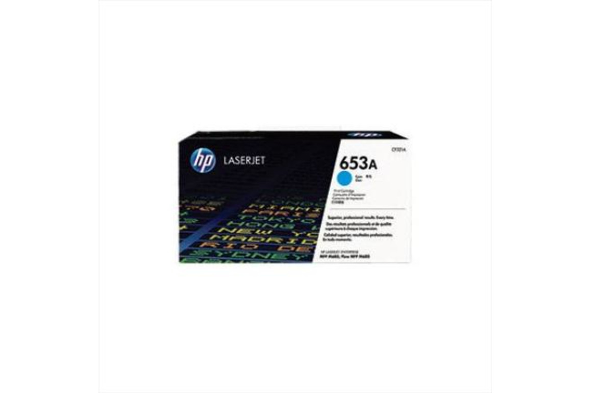 HP LJ Cartridge Nr.653A cyan 16,5K, Art.-Nr. CF321A - Paterno Shop
