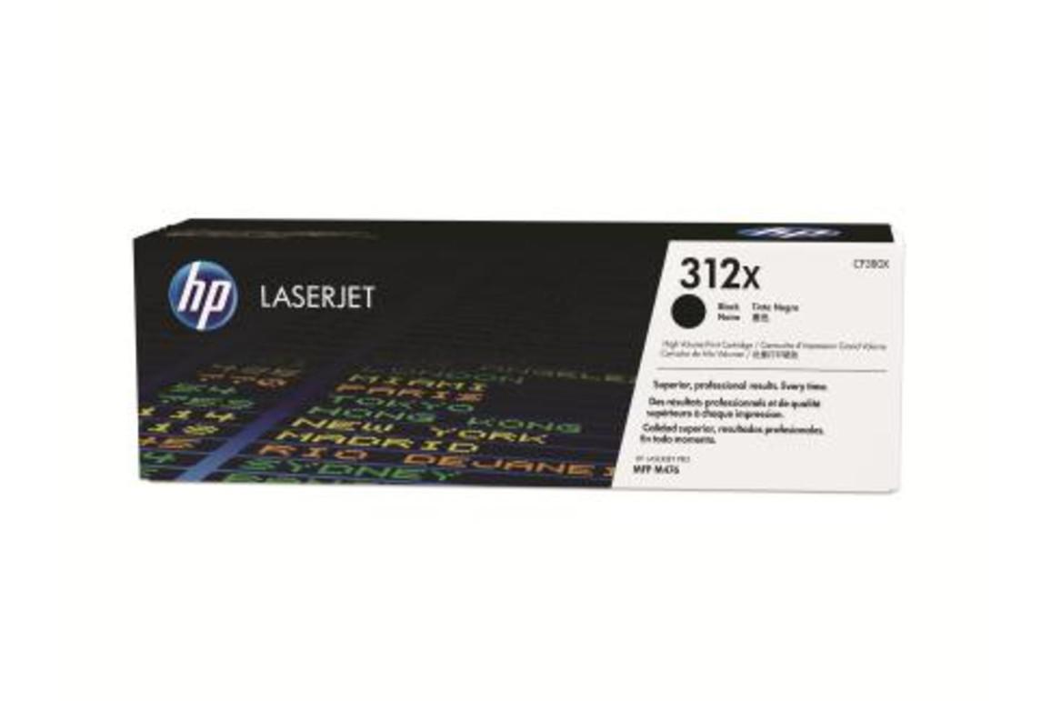 HP LJ Cartridge Nr.312X black 4,4K, Art.-Nr. CF380X - Paterno Shop