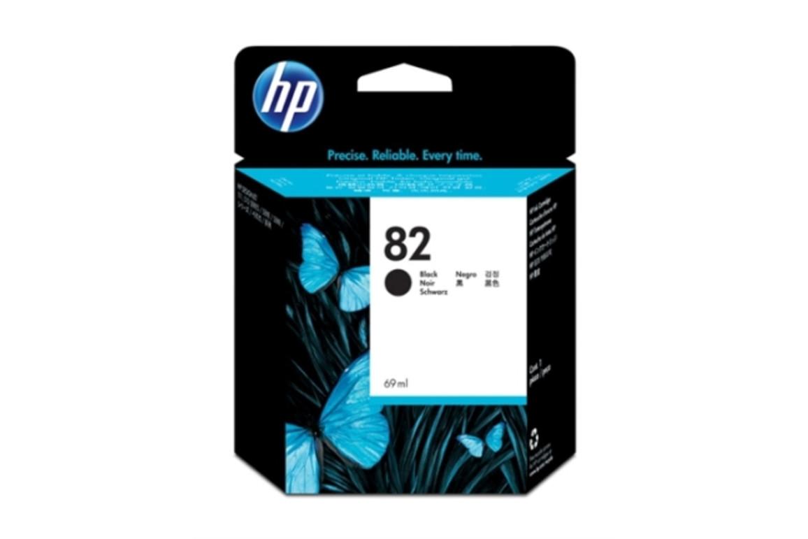 HP Ink Nr.82 black 69ml, Art.-Nr. CH565A - Paterno Shop