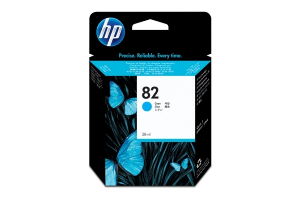 HP Ink Nr.82 cyan 28ml, Art.-Nr. CH566A - Paterno Shop