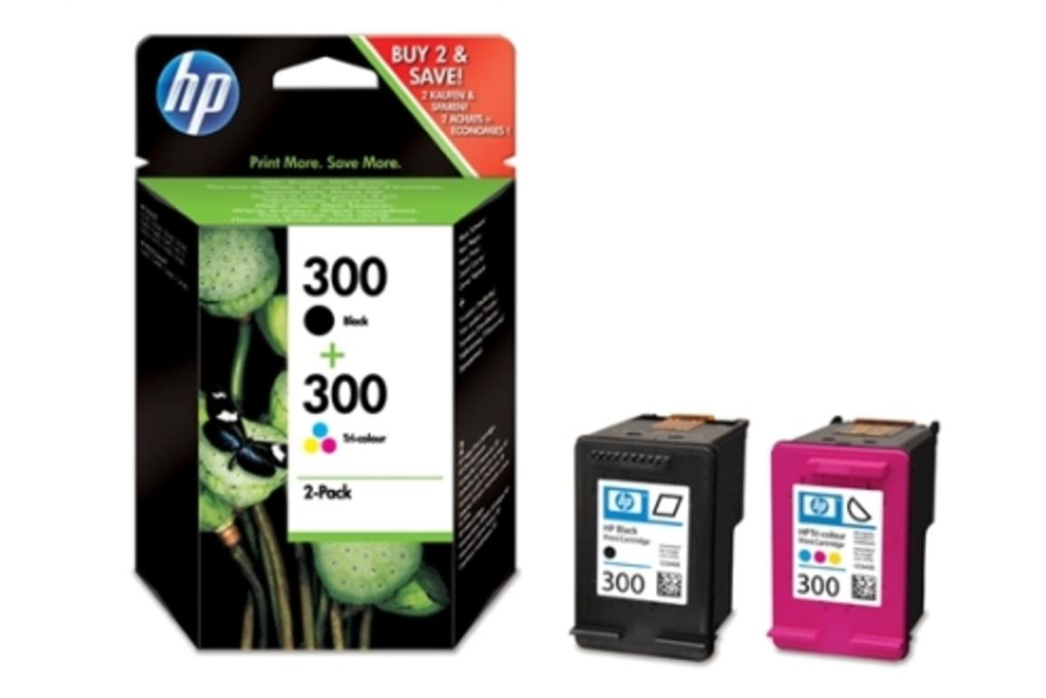 HP Ink Nr.300 black+color, Art.-Nr. CN637EE - Paterno Shop