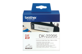Adressetiketten Brother 62mm X 30,48 m, Art.-Nr. DK22205 - Paterno Shop