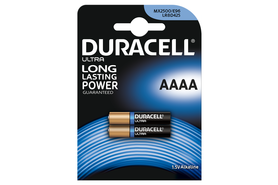 Batterie Duracell® Ultra Power, Mini 1,5 V -AAAA, Art.-Nr. MN2500 - Paterno Shop