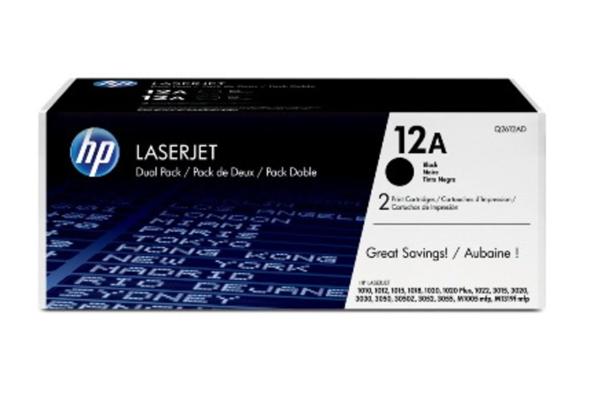HP LJ Cartr. Ultraprecise Nr.12A 2K 1x2, Art.-Nr. Q2612AD - Paterno Shop