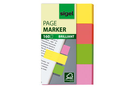 Haftmarker Sigel 50x80 mm Brillant, Art.-Nr. HN630 - Paterno Shop