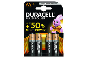 Batterie Duracell Mignon AA 1,5V, Art.-Nr. MN1500-4 - Paterno Shop