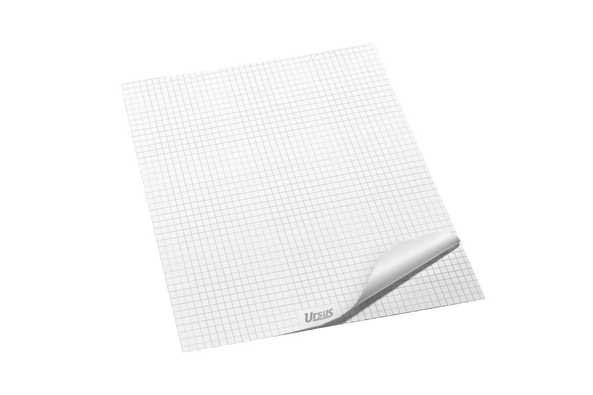 Flipchartpapier 68x99cm 20 Blatt 80g/qm kariert, Art.-Nr. 036441 - Paterno Shop