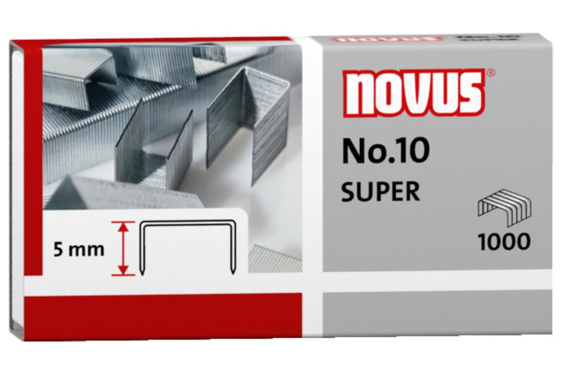 Heftklammern Novus Nr.10 verzinkt, Art.-Nr. 040-0003 - Paterno Shop