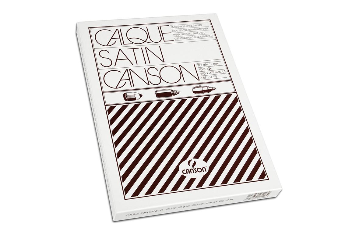 Transparentpapier Canson A4 110/115 gr, Art.-Nr. 04600 - Paterno Shop