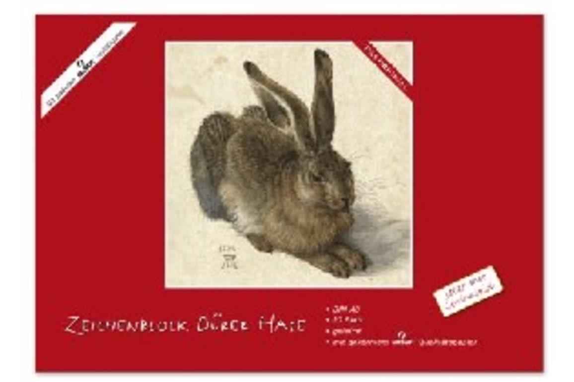 Zeichenblock Dürer Hase A3 18 Bl., Art.-Nr. 051320 - Paterno Shop